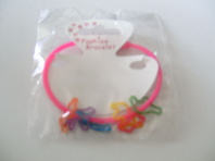 Childrens gummy bracelet with small gummy animals (Code 0232)